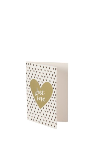 Just Love Mini Card