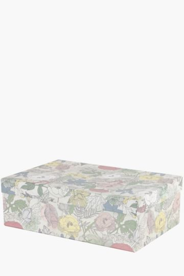 Floral Storage Box Extra Large