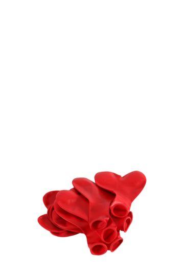 10 Heart Balloons