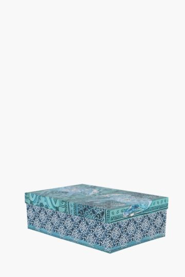 Elephant Design Storage Box Large