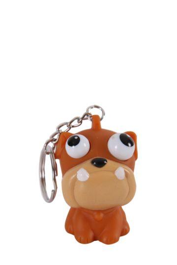 Pop Eye Dog Key Ring