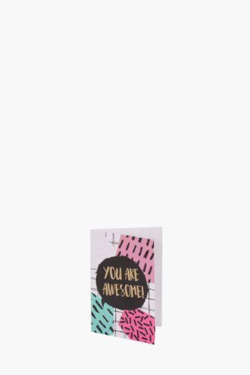 Awesome Mini Card