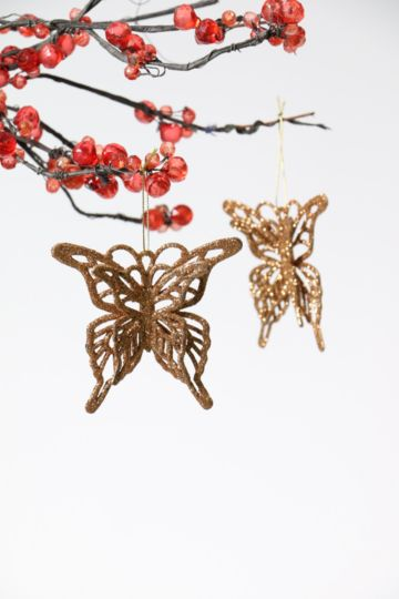 2 Hanging Butterfly