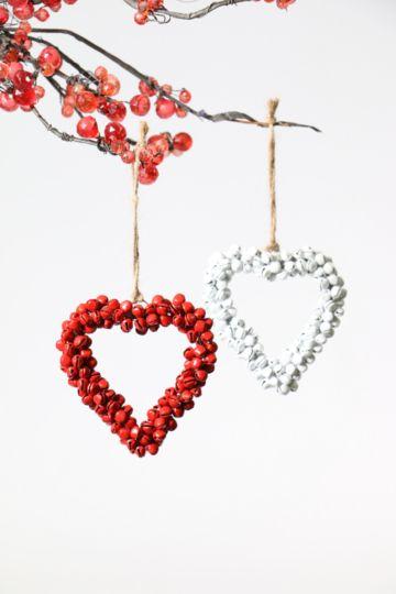 Hanging Bell Heart