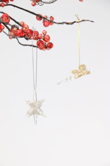 Glass Hanging Star