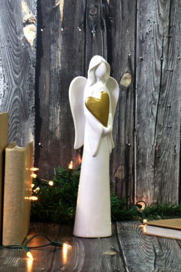 Angel Heart Statue