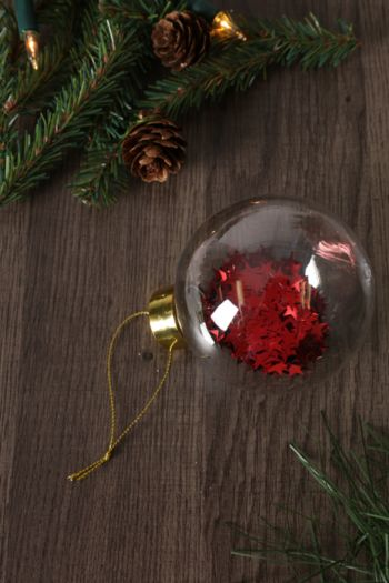 Hanging Star Filled Bauble