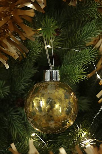 Hanging Glass Led Bauble Large