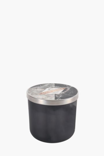 Frosted Glass Wax Fill Candle