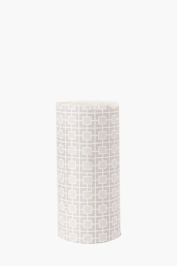 Wild Cotton Fragranced Pillar Candle 14cm