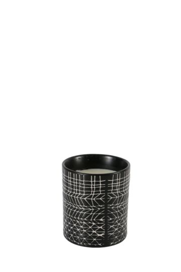 Ethnic Geo Wax Fill Candle