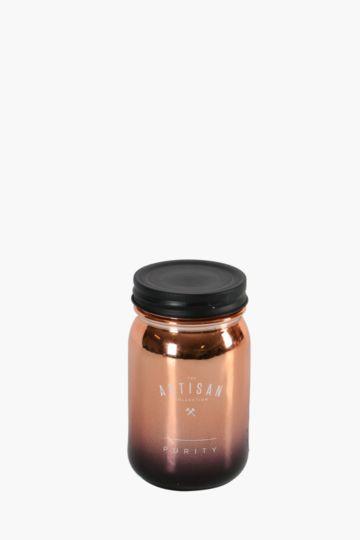 Mason Metallic Wax Fill Jar