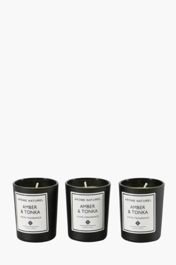 3 Fragrance Wax Fill Candles