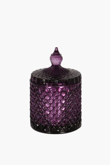 Cut Glass Waxfill Candle