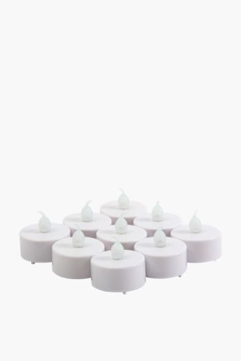Pack Of 9 Led Tealight Candles
