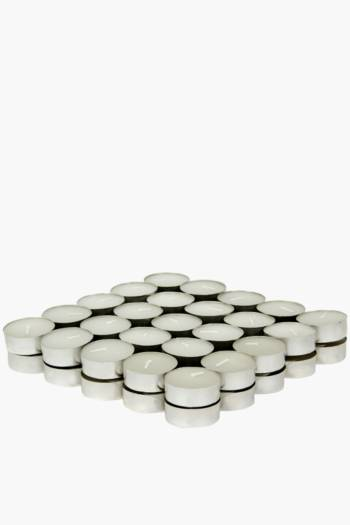 Pack Of 50 Vanilla Tealight Candles