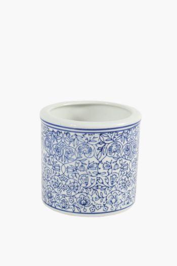 Ceramic Delft Waxfill Candle