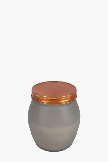 Frosted Waxfill Mason Jar