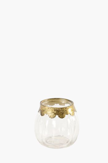 Vintage Scallop Trim Tealight Holder