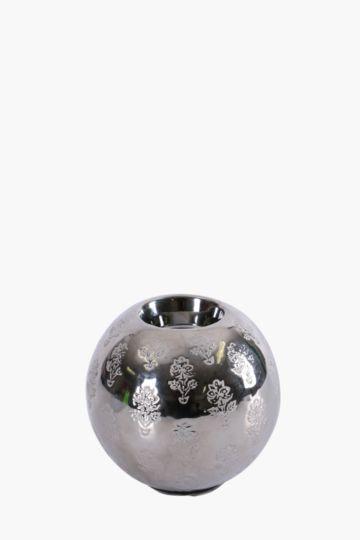Ceramic Floral Tea Light Holder