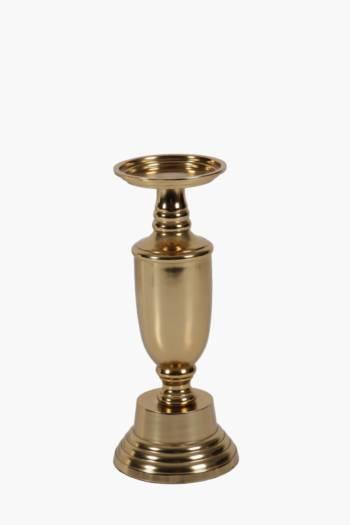 Metallic Candle Holder Large