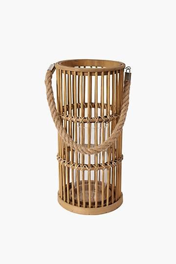 Woven Cylinder Lantern, Medium