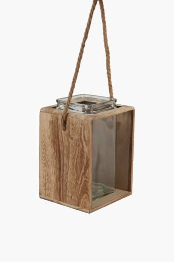 Urban Wood Lantern Small