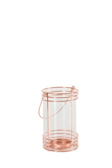 Copper Pipe Cylinder Lantern