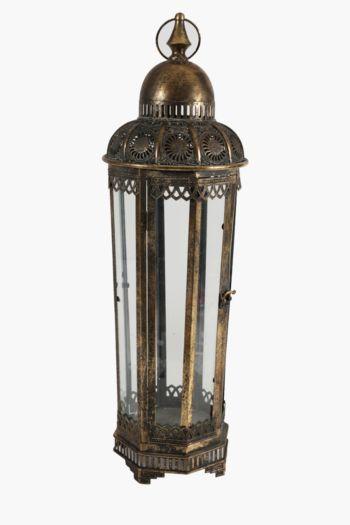 Metal Filigree Lantern Extra Large