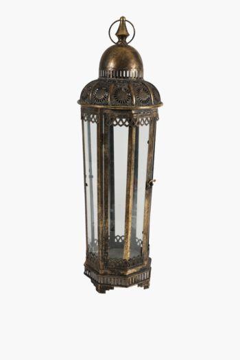 Metal Filigree Lantern Large