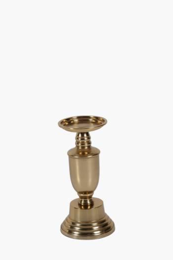Metallic Candle Holder Medium