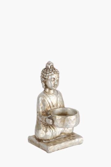 Zen Metallic Candle Holder