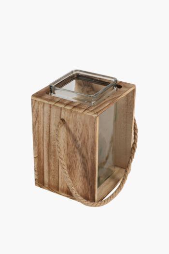 Urban Wood Lantern Small