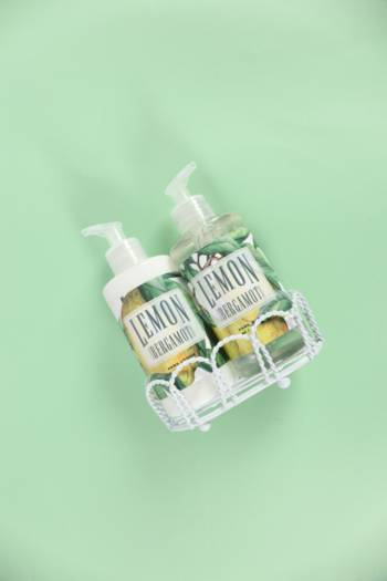 Lemon And Bergamot 2 Pack Caddy