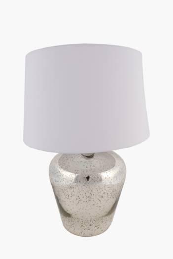 Mercury Glass Table Lamp Set