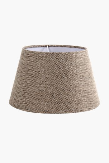 Chenille Textured Tapered Medium Lamp Shade