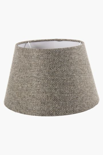 Chenille Textured Tapered Medium Lamp Shade