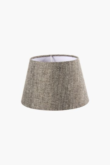 Chenille textured tapered small lamp shade