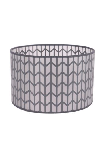 Arrow Cut Out Drum Shade