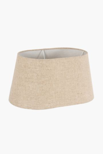 Linen Oval Medium Lamp Shade