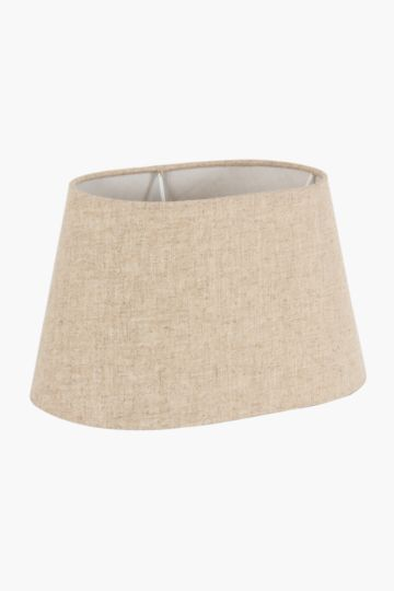 Linen Oval Extra Large Lamp Shade