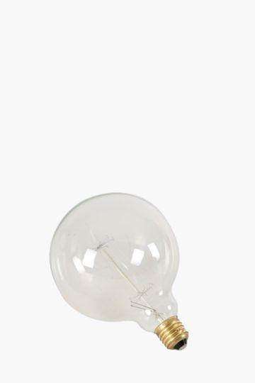 Edison Round Carbon Filament Bayonette Bulb