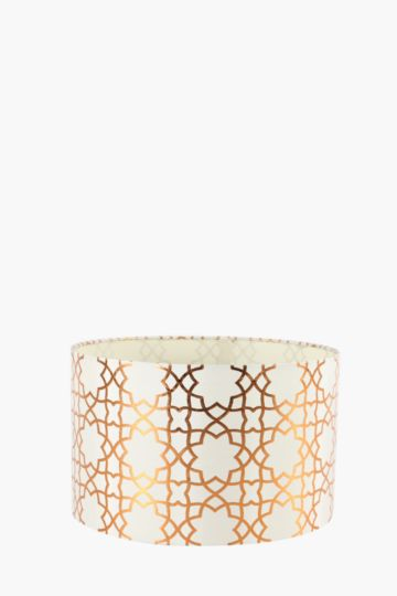 Woven Ribbed Drum Lamp Shade Medium