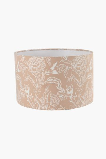 Floral Drum Lamp Shade Medium