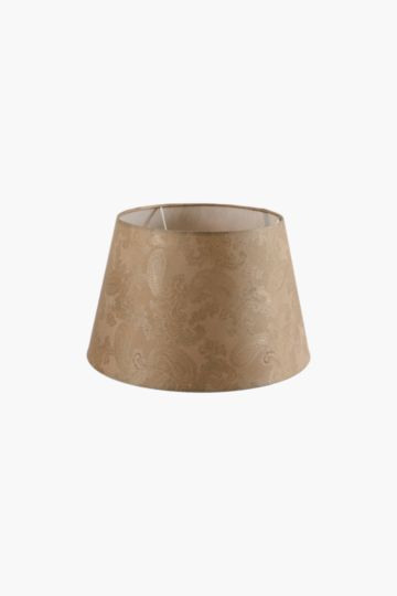 Textured tapered lamp shade small