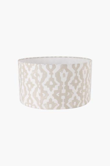 Floral Drum Lamp Shade Medium