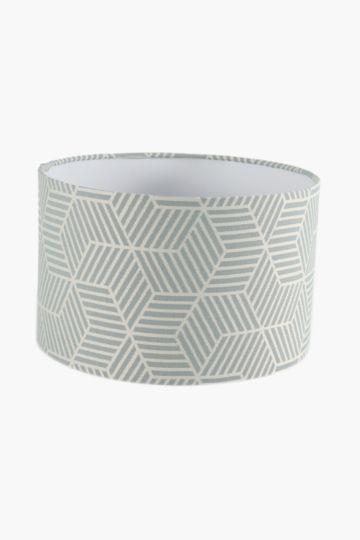 Textured Drum Lamp Shade, Medium