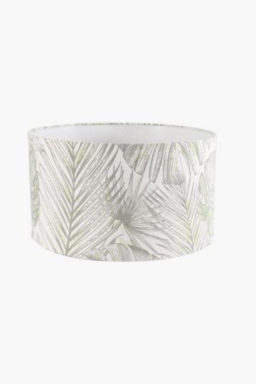 Floral Drum Lamp Shade Large