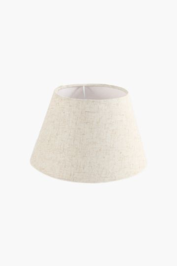 Textured tapered lamp shade extra small