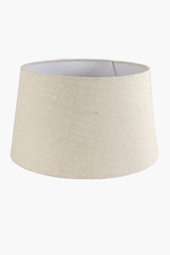 Cotton Tapered Large Lamp Shade